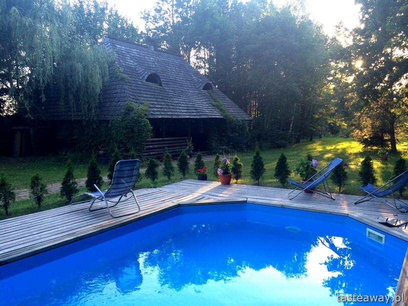 Dwór Zaścianek, weekend, magiczne miejsce , Borsuki