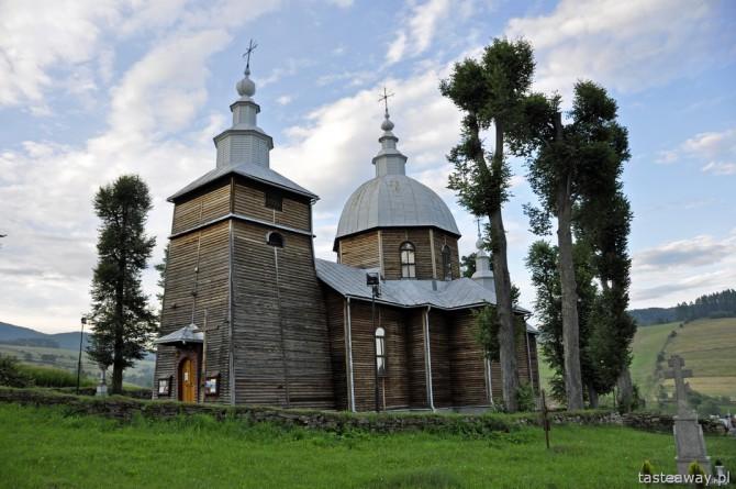 Złockie, Krynica Zdrój, Beskid Sądecki, cerkwie