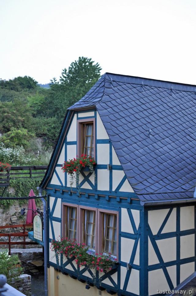 Rudesheim, Rhineland, Middle Rhine, vineyard, wine, Hotel Zum Gruner  Kranz