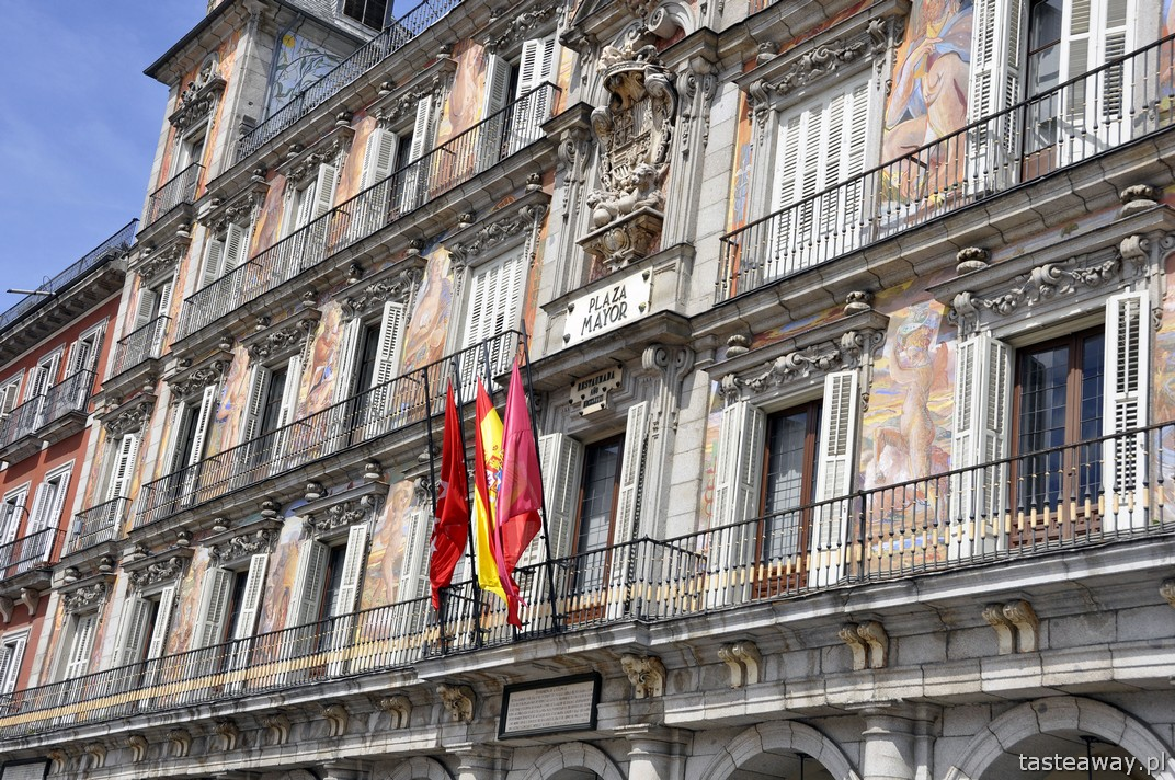 Plaza Mayor, Madryt, Hiszpania