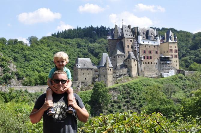 Nadrenia, Dolina Środkowego Renu, Eltz, zamki nad Renem, Niemcy