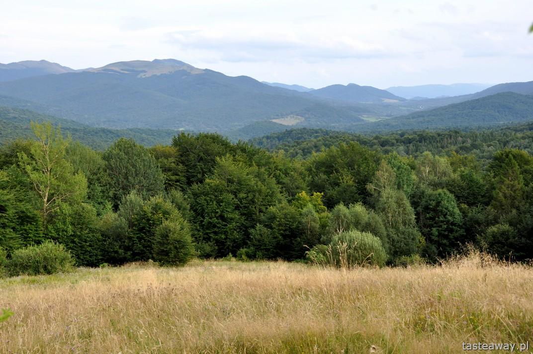 Bieszczady, góry, Mała Rawka, Wetlina, Chata Wędrowca, schronisko pod Małą Rawką