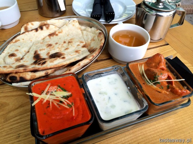 lunch, Mandala, kuchnia indyska, Warszawa
