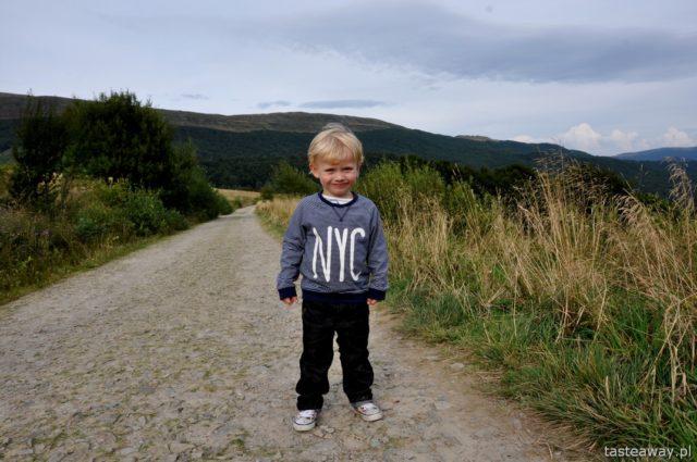 Bieszczady, Magiczne Bieszczady, co robić w Bieszczadach, Mała Rawka, podróżowanie z dzieckiem