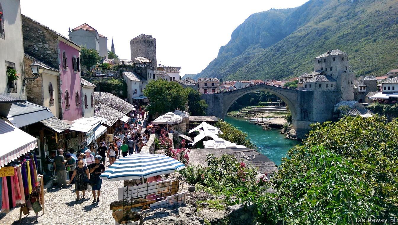 Mostar, Stary Most, Bośnia i Hercegowina, Bałkany, co zobaczyć w Bośni