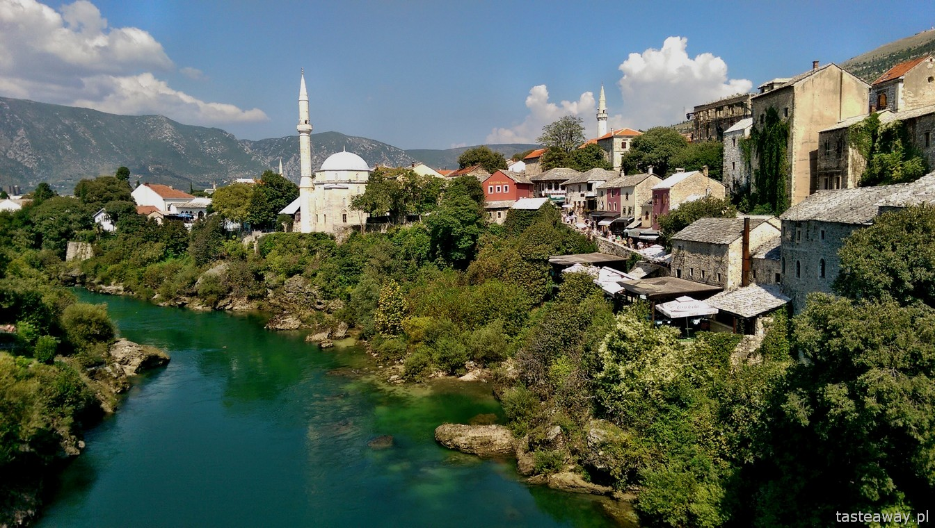 starówka, Mostar, Stary Most, Bośnia i Hercegowina, Neretwa, podróże Bałkany, co zobaczyć w Bośni