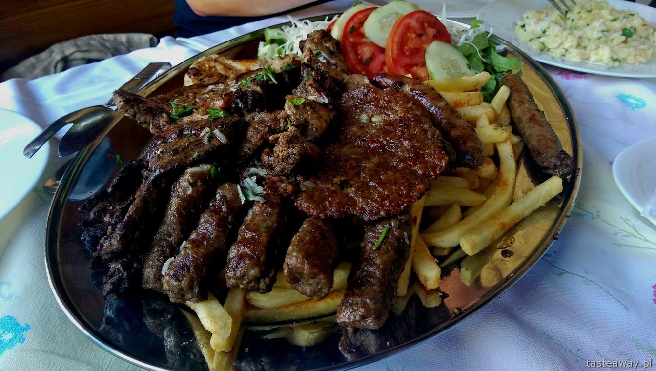 Bałkany, kuchnia bałkańska, Mostar, Bośnia,