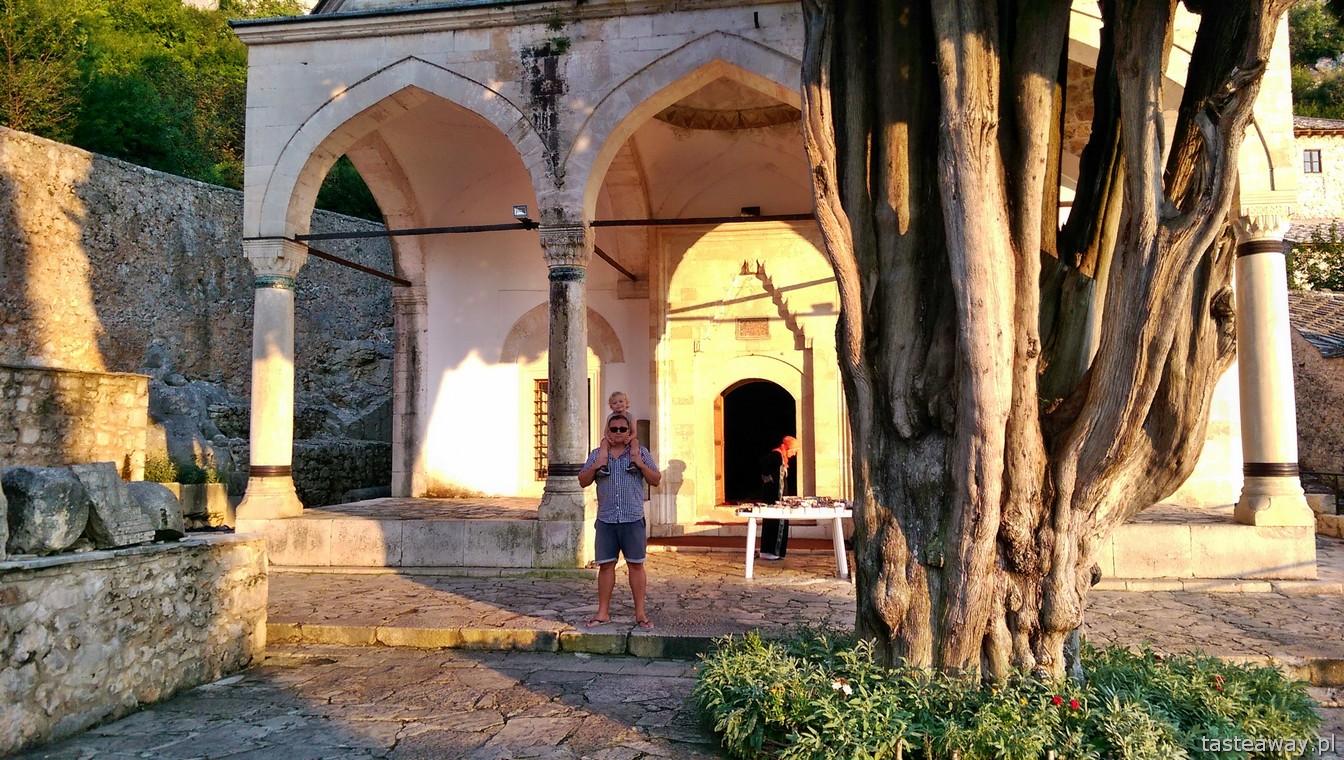 meczet, Pocitelj, Bośnia i Hercegowina,  co zobaczyć w Bośni, meczet