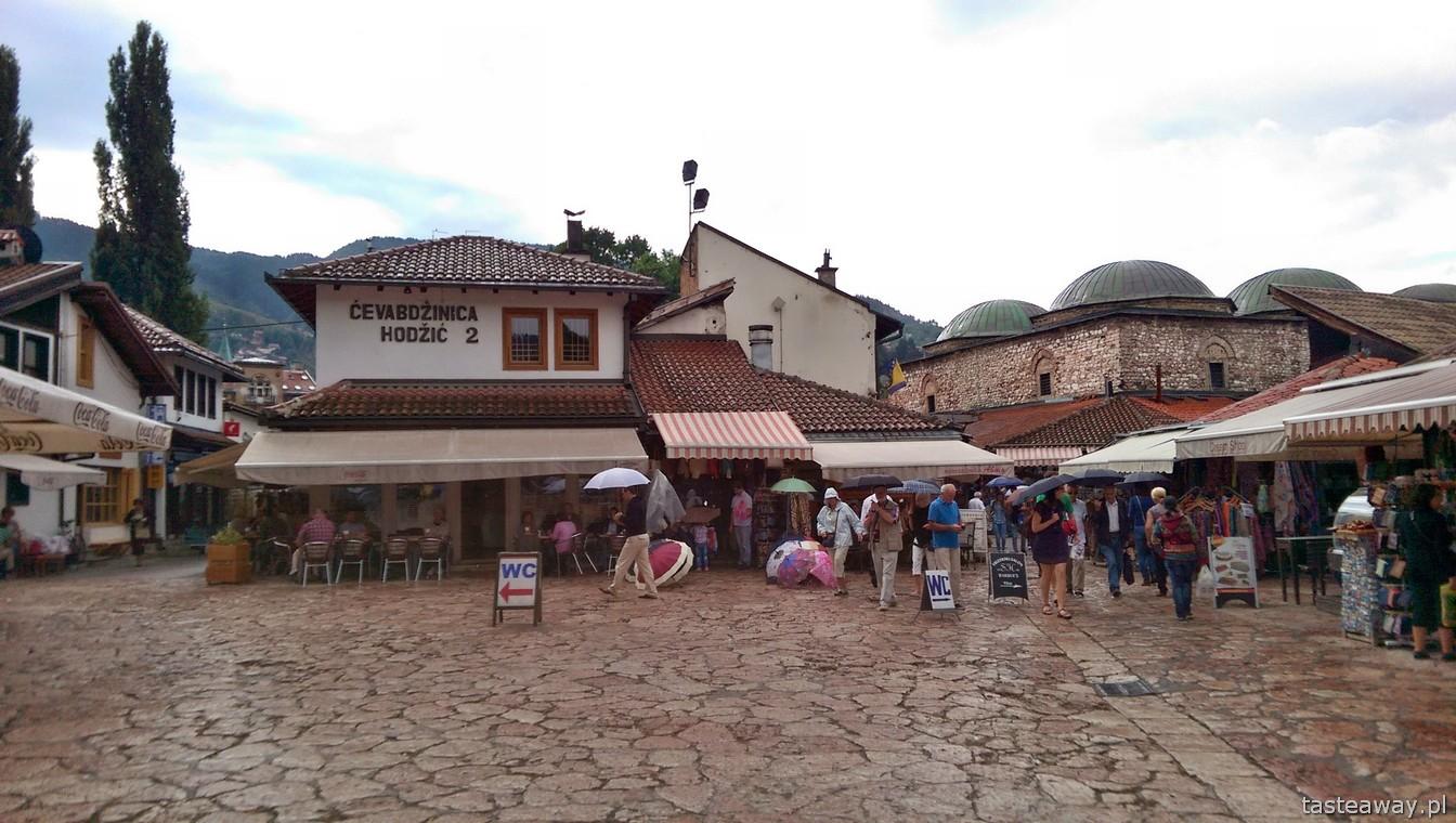 Baščaršija, Sarajewo, Bośnia i Hercegowina, co zobaczyć w Sarajewie