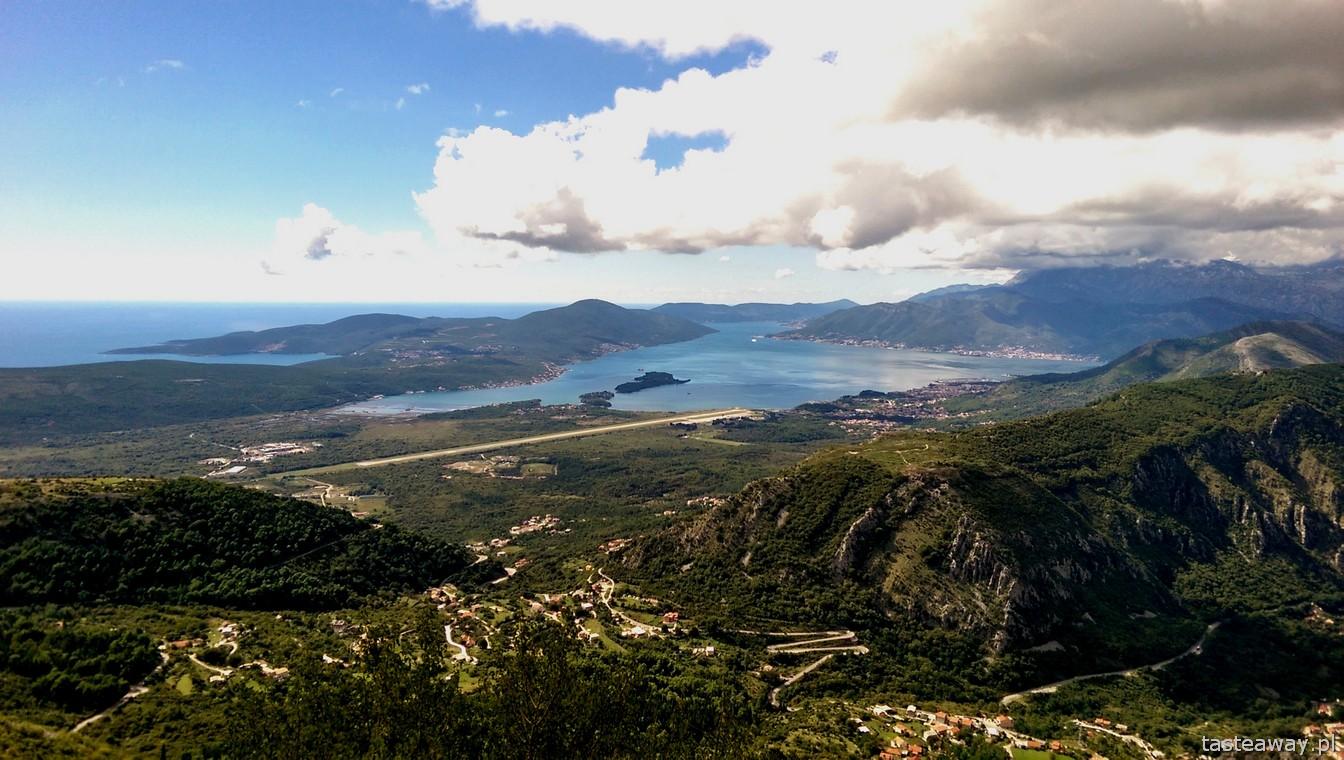 Czarnogóra, Boka Kotorska, najpiękniejsza trasa w Europie, Kotor, Cetynia