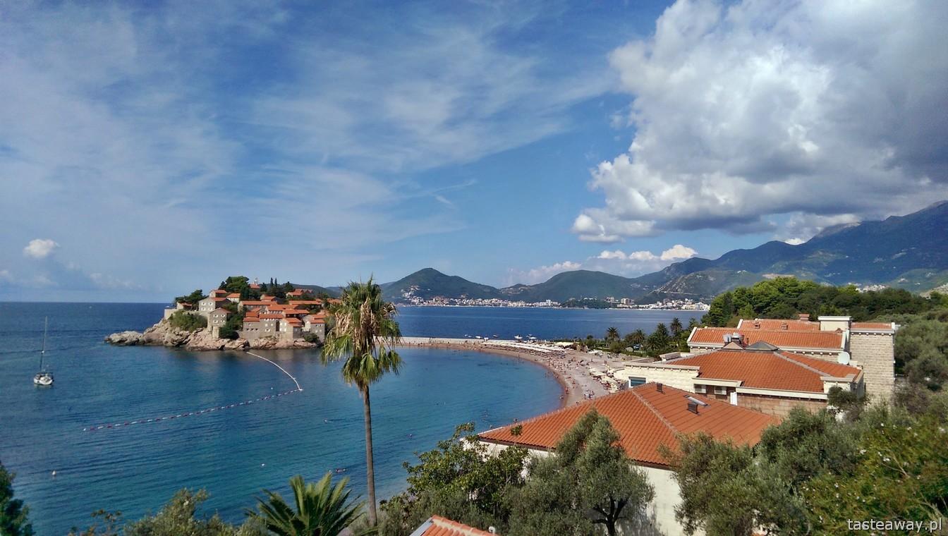 Czarnogóra, Sveti Stefan, Morze Adriatyckie, co zobaczyć w Czarnogórze
