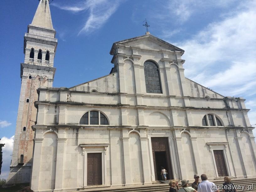 katedra św. Eufemii, Rovinj, Rovigno, Chorwacja, bałkany