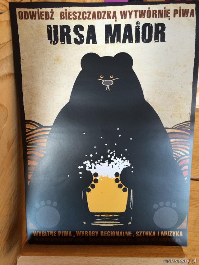 Ursa Maior, Bieszczadzka Wytwórnia Piwa, Bieszczady, co robić w Bieszczadach