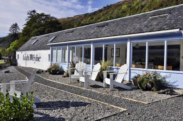 ostrygi, Loch Fyne Oyster Bar, Szkocja