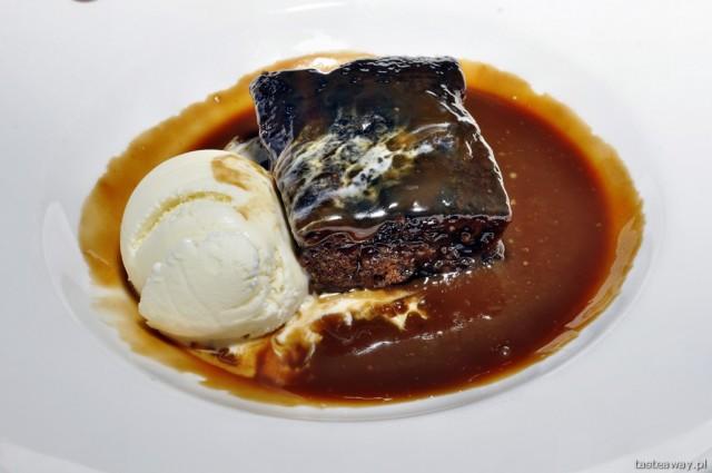 sticky toffee pudding, deser wielka brytania, szkocja