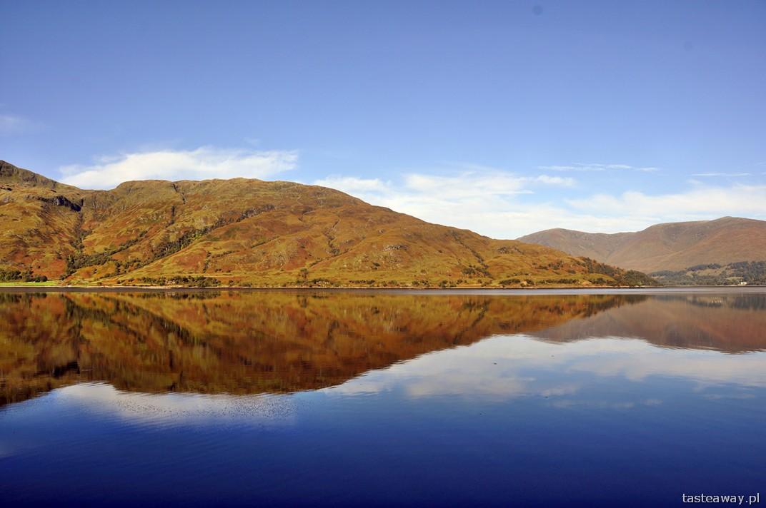 Glenfinnan, Szkocja, jeziora, Wielka Brytania, Fort William