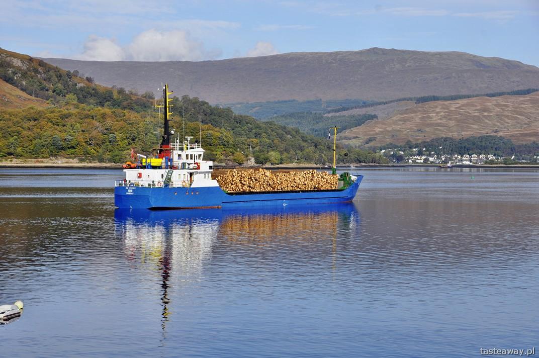 Szkocja, Fort William, Glenfinnan, jezioro