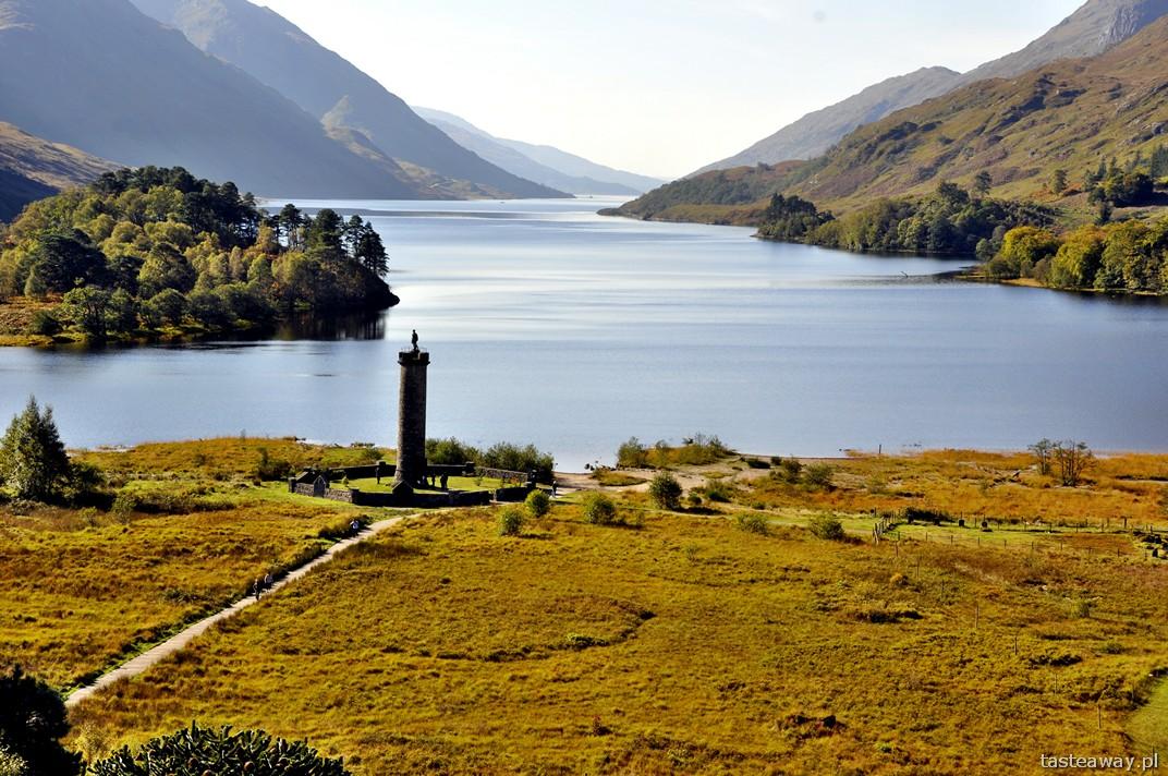 Glenfinnan Monument, Loch Shiel, Szkocja, Wielka Brytania, Glenfinnan