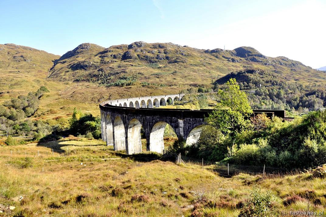 Glenfinnan, wiadukt Glenfinnan, Szkocja, Top Rail Journey