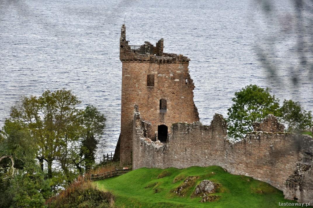 Loch Ness, Nessie, zamek Urquhart