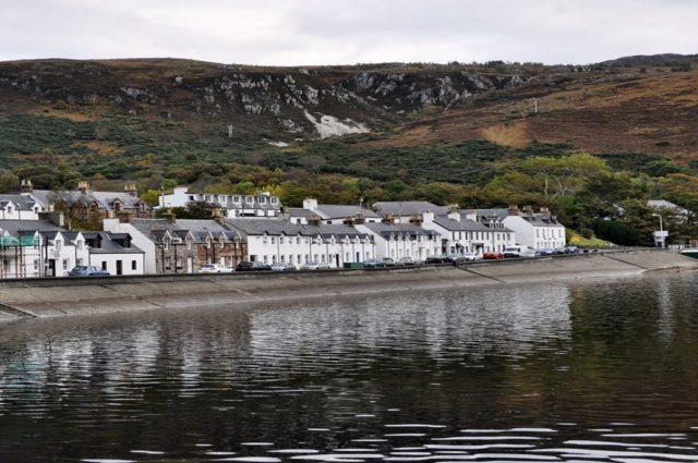 Ullapool, Szkocja, północ Szkocji, port
