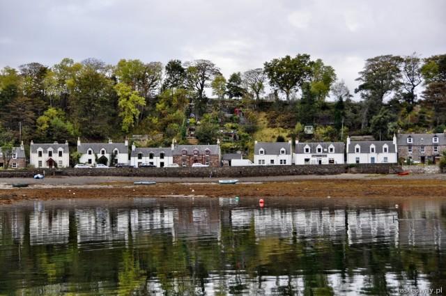 Plockton, Szkocja, północ Szkocji