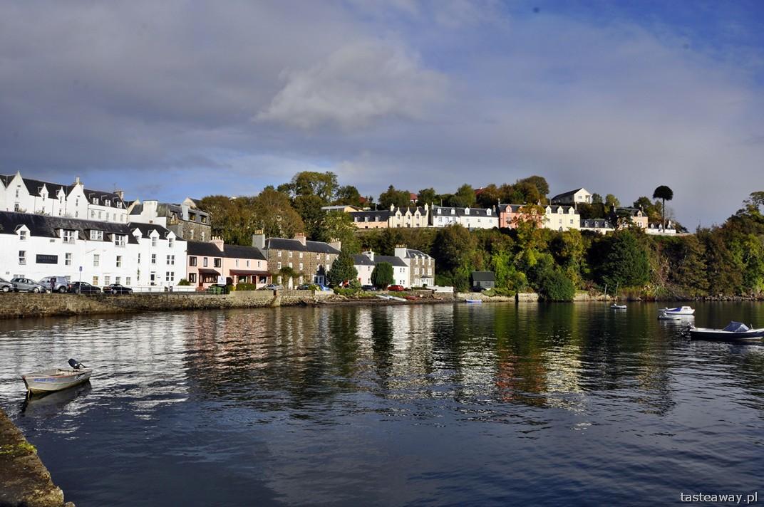 Portree, Szkocja, szkockie wyspy, Isle of Skye