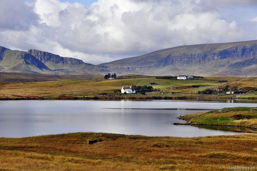 Isle of Skye, Szkocja, krajobrazy, szkockie wyspy