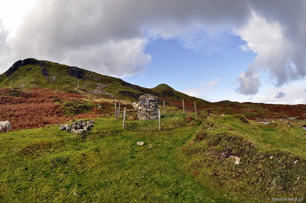 Szkocja jesienią, szkockie wyspy, Isle of Skye
