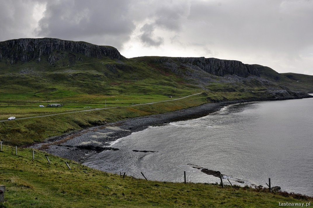 Portree, Kilmuir, Skye, krajobrazy, Szkocja