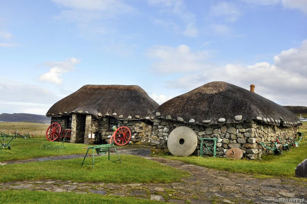 Muzeum Życia na Skye, Isle of Skye, Kilmuir, Szkocja, szkockie wyspy