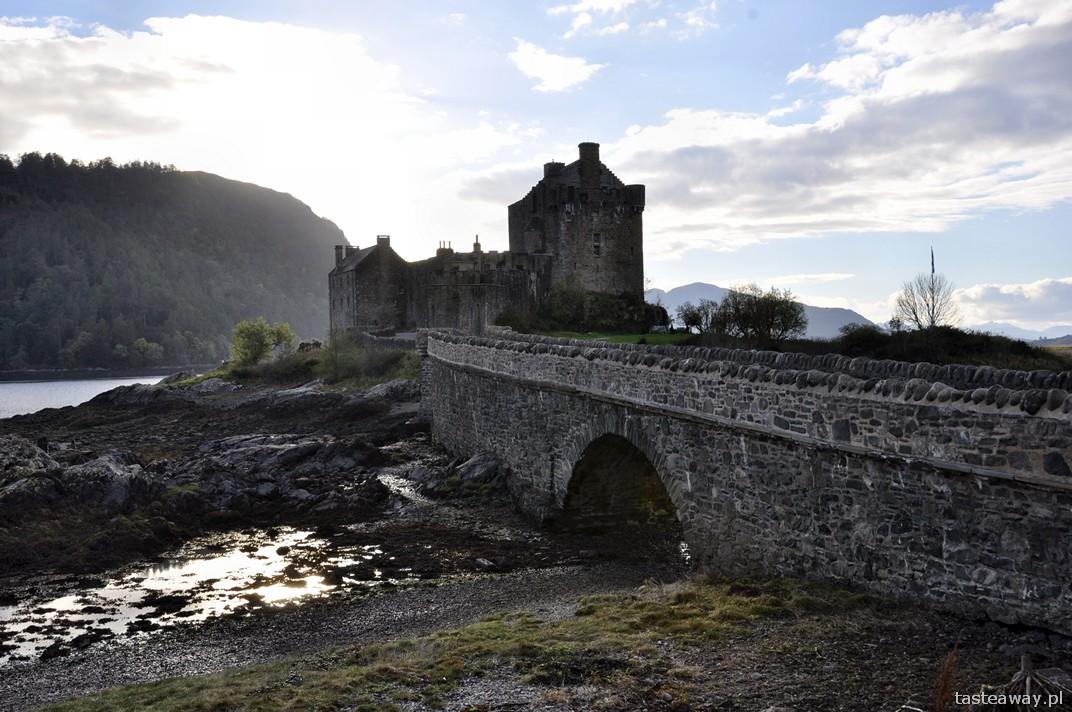 Szkocja, Zamek Eilean Donan, Dornie, Plockton, północ Szkocji