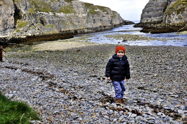 Smoo Cave, Durness, travelling with a child, Scotland, northern Scotland