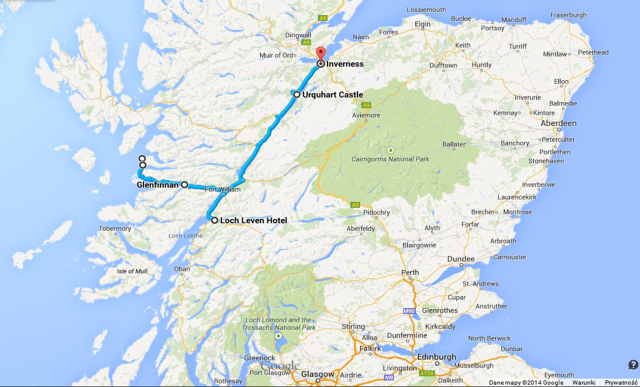 Scotland: in search of Loch Ness Monster and Harry Potter