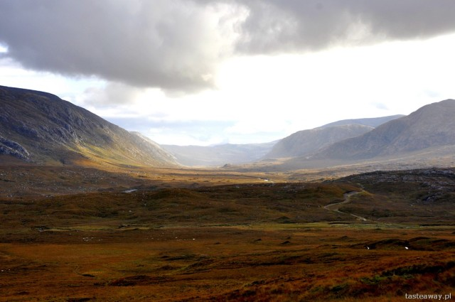on the Durness - Ullapool route, Scotland, northern Scotland, desolatione