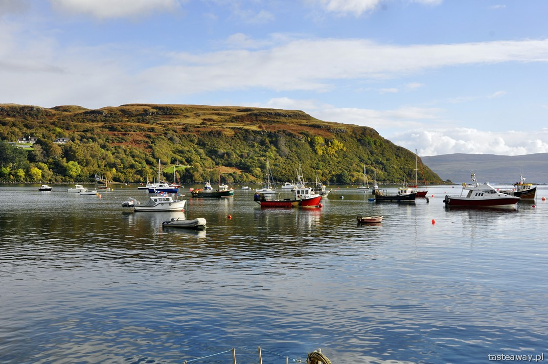 Isle of Skye, Szkocja, Szkockie wyspy, Portree