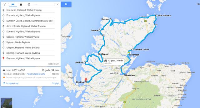 północ Szkocji, Szkocja, Thurso, Ullapool, Plockton