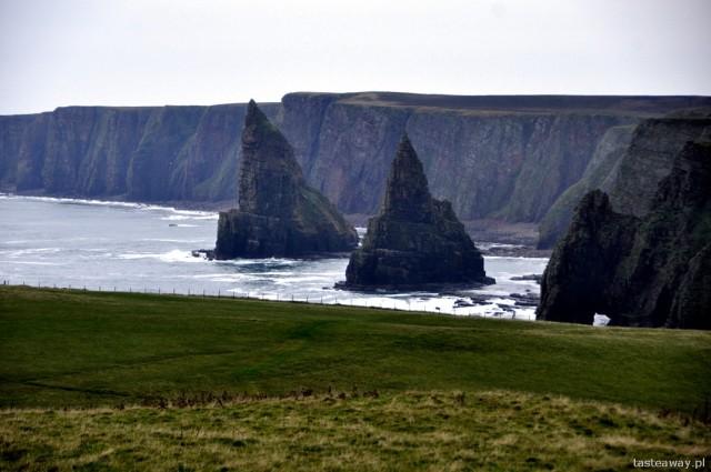 John O' Groats, przylądek Duncansby, Szkocja, północna Szkocja,