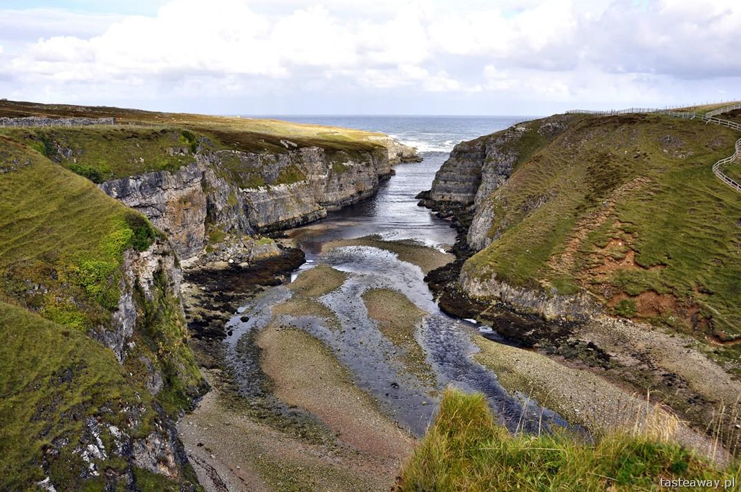 Smoo Cave, Durness, Szkocja, północ Szkocji, jaskinie