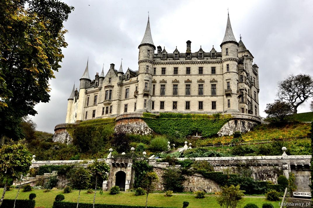 Dunrobin, Dunrobin Castle, Dornoch, Szkocja, północ Szkocji