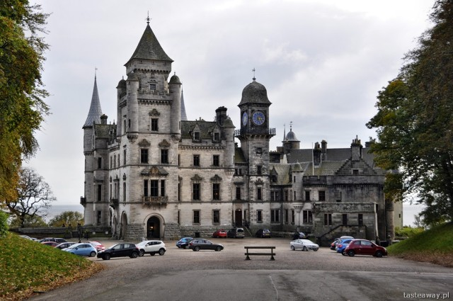 Zamek Dunrobin, Dunrobin, szkockie zamki, Szkocja, północ Szkocji