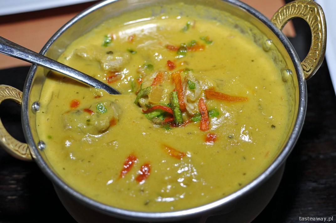 Bombaj Masala, restauracje, Warszawa, kuchnia indyjska, restauracje przyjazne dzieciom