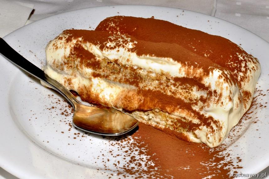 tiramisu, Le Chalet, Murzasichle, kuchnia włoska