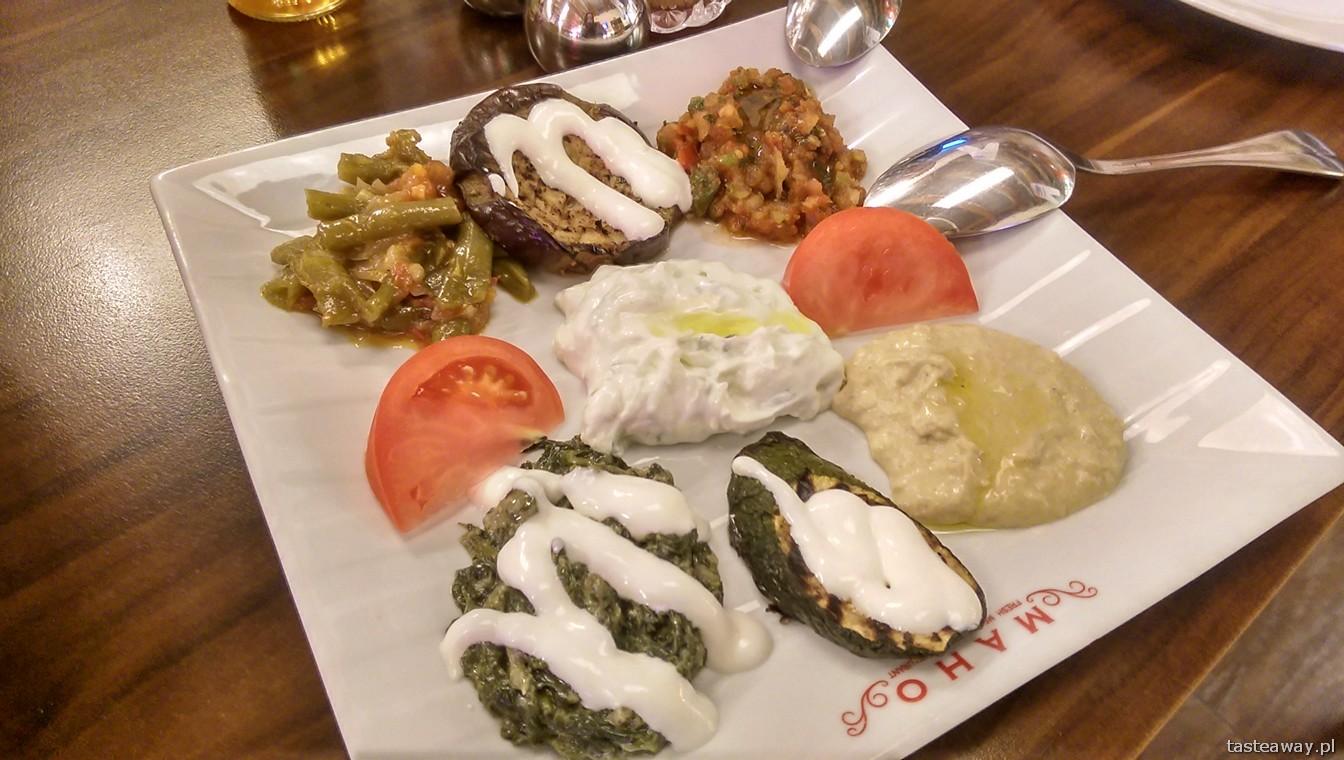 meze tabagi, kuchnia turecka, Maho, warszawa