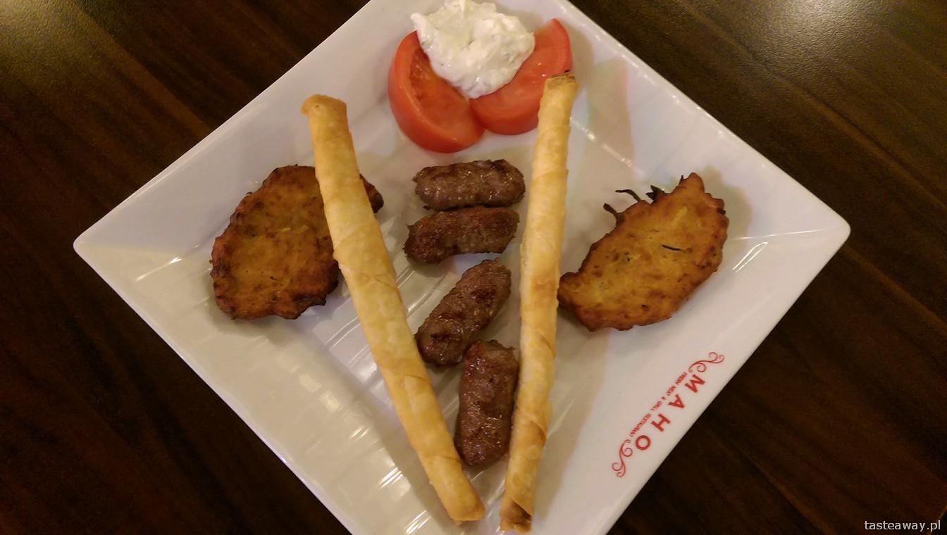 Maho, kuchnia turecka, Warszawa, restauracje, kofte