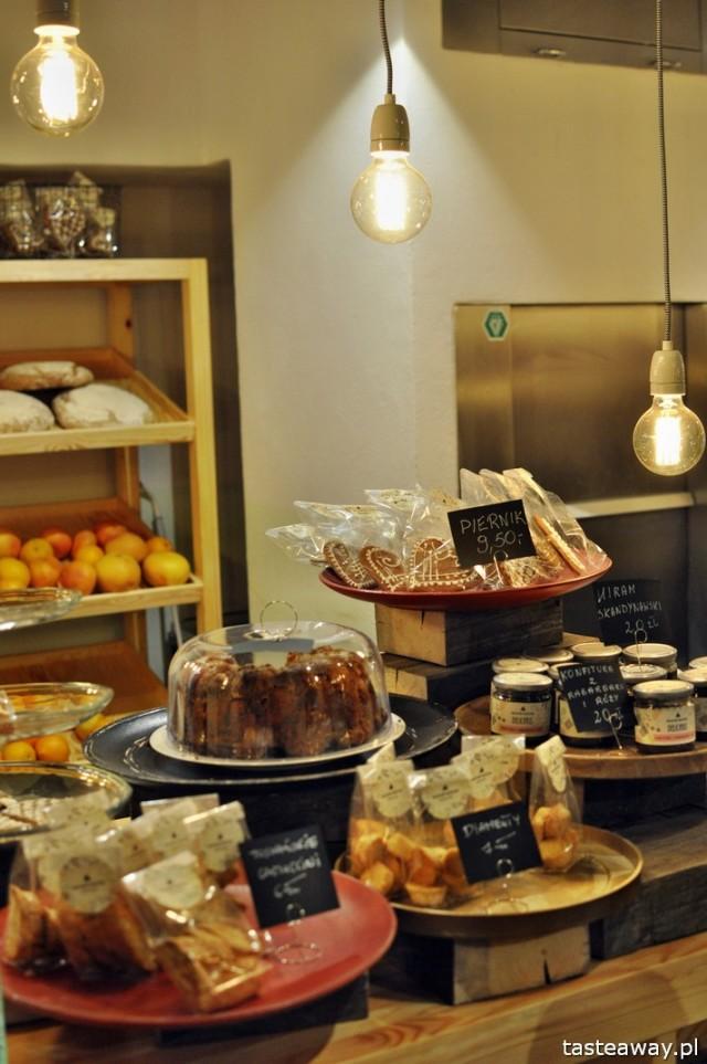 Bazar Kocha, desery, ciastka, Warszawa, restauracje,