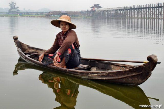 Birma, ludzie, Mandalay, Amarapura, fotografowanie ludzi