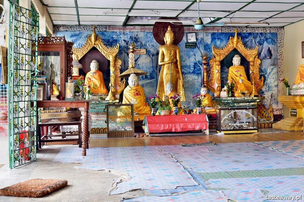 Botataung Pagoda, Birma, Myanmar, Rangun, Yangon, atrakcje Rangun