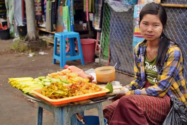 Birma, Rangun, Yangon, ludzie, fotografowanie ludzi