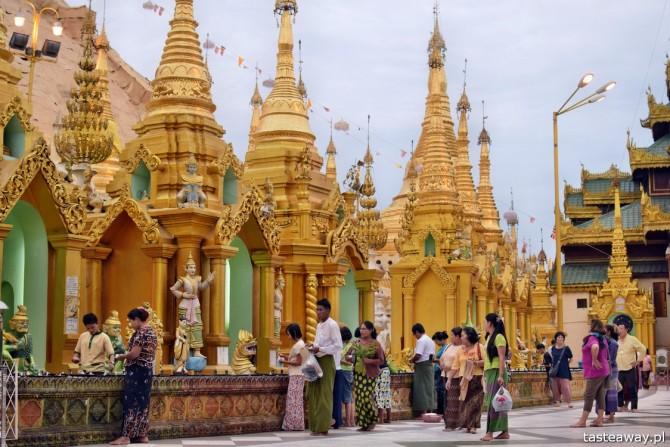 Birma, Rangun, Yangon, Shwedagon Paya